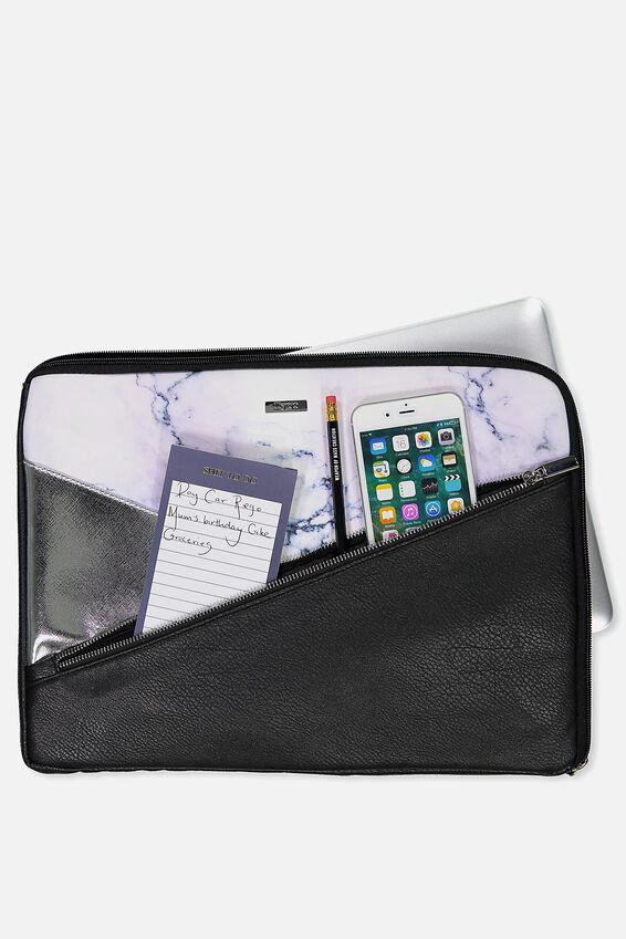 Premium Laptop Case 15 Inch, LUSH MARBLE