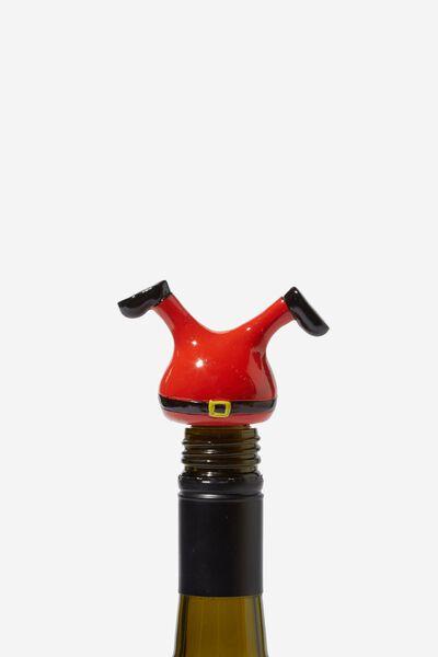 Bottle Stopper, SANTA LEGS