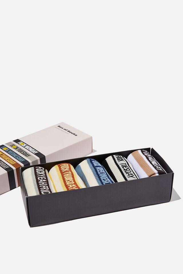 Box Of Socks, DAILY SWEAR!! (M/L)