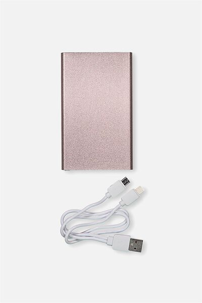 Charge It Power Bank, ROSE GOLD