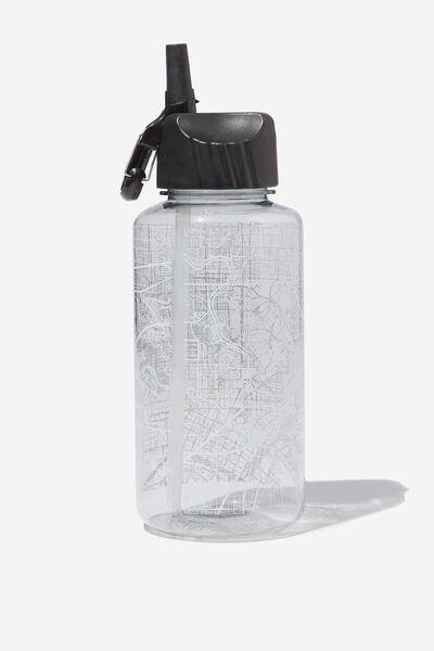 Suck It Up Drink Bottle, STREET MAP