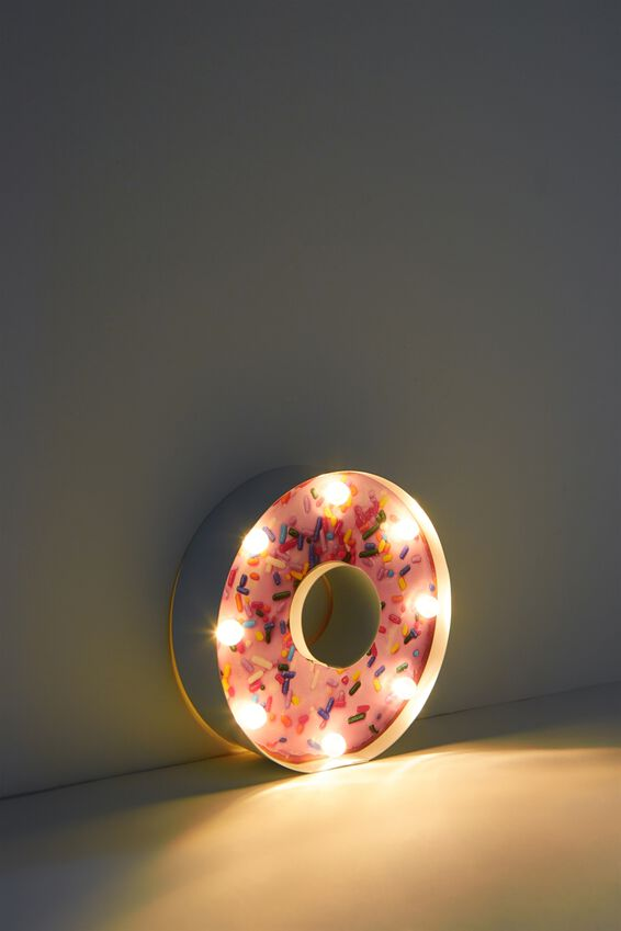 Shaped Mini Marquee Light, DONUT