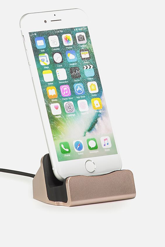 Phone Docking Station, ROSE GOLD