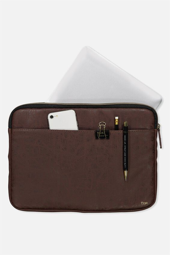 Core Laptop Cover 13 Inch, RICH TAN