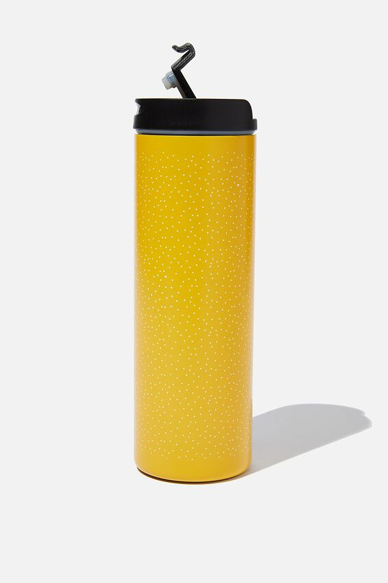 Travelling Tea Drinker, YELLOW POLKA DOT