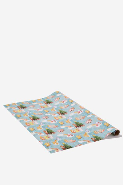 Wrapping Paper Roll, LCN CLC CARE BEARS CHRISTMAS
