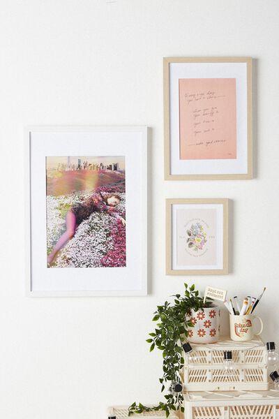 A3 Framed Print, LCN ICO NORMAN PARKINSON MODEL FLOWER HILL