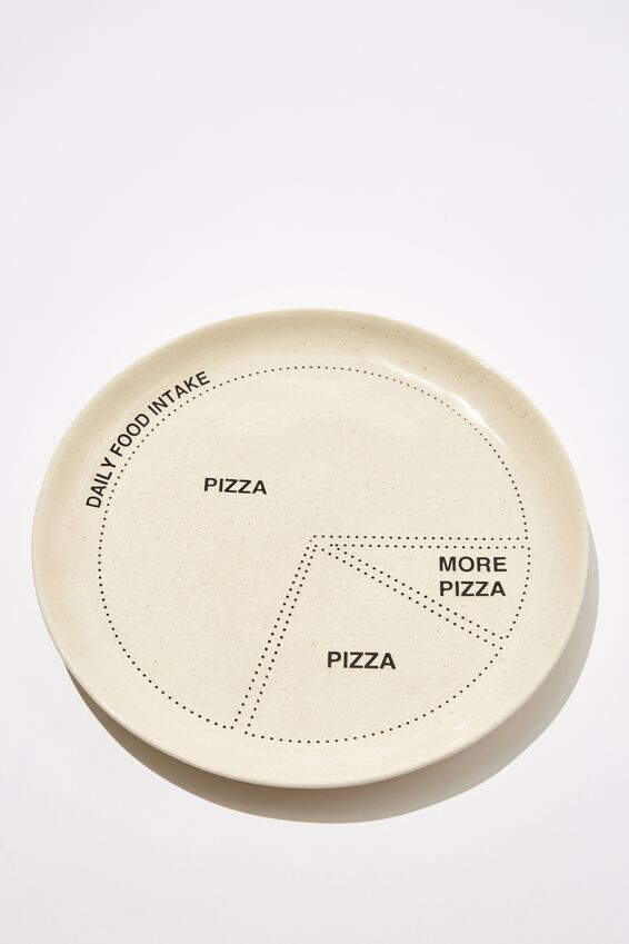 Stuff Your Face Plate, PIZZA PIZZA PIZZA