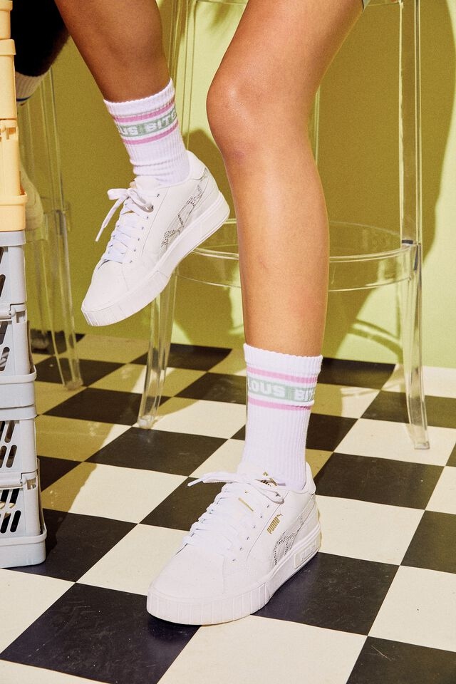 Socks, FABULOUS BITCH WHITE!