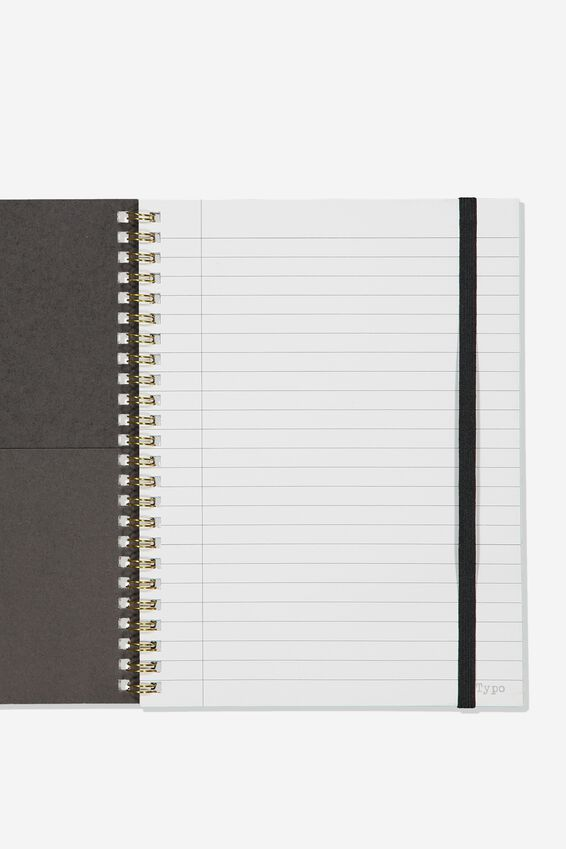 A5 Spinout Notebook Recycled, BOHO UNICORN