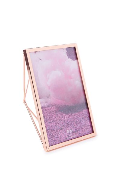 Metal Stand Frame, ROSE GOLD