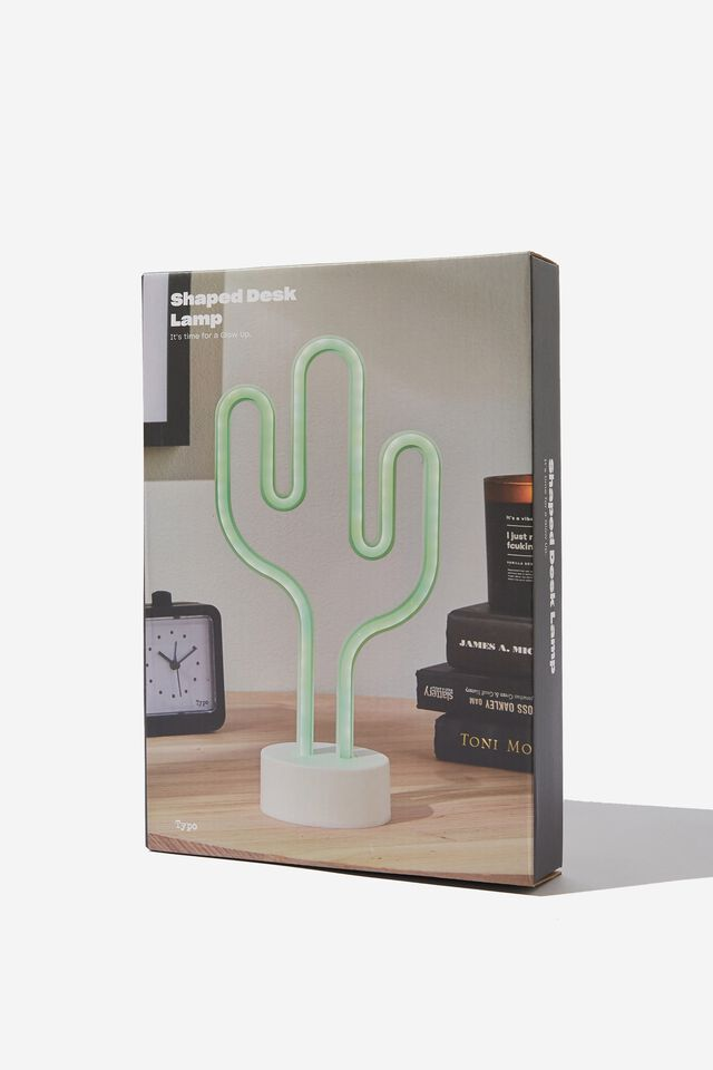 Shaped Desk Lamp, CACTUS