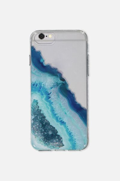 Transparent Phone Cover Universal 6,7,8, GREEN AGATE