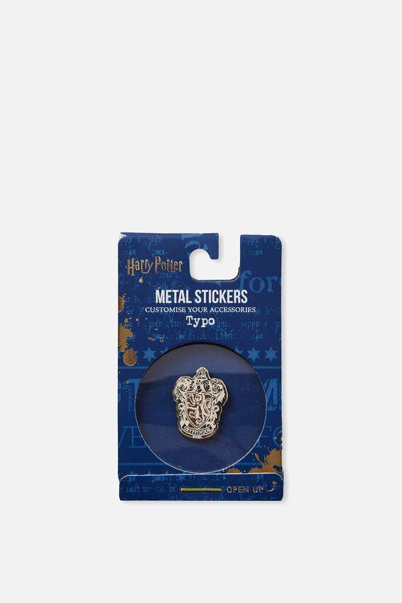 Harry Potter Metal Sticker, LCN HP GRYFINDOR