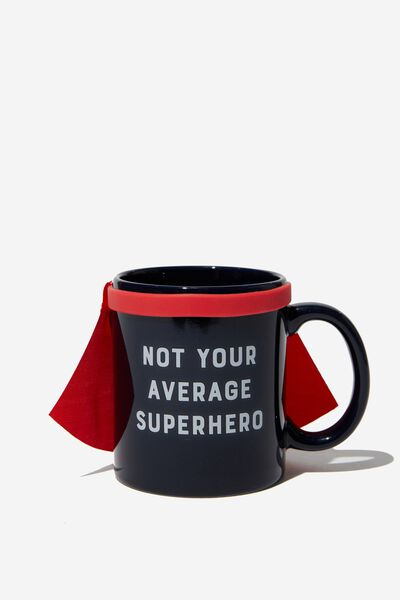 Anytime Mug, AVERAGE SUPERHERO