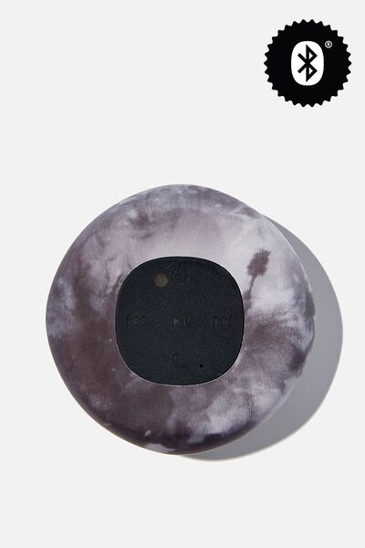 Wireless Shower Speaker, BLACK TYE DYE 2.0