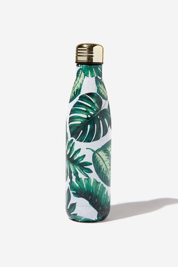 Metal Drink Bottle, PLANT LOVER