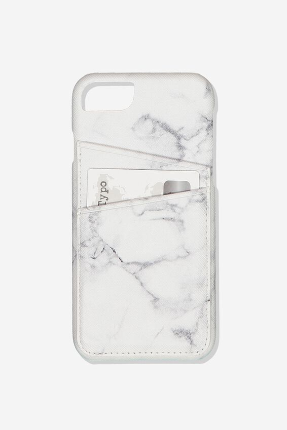 The Phone Cardholder 6,7,8, MARBLE