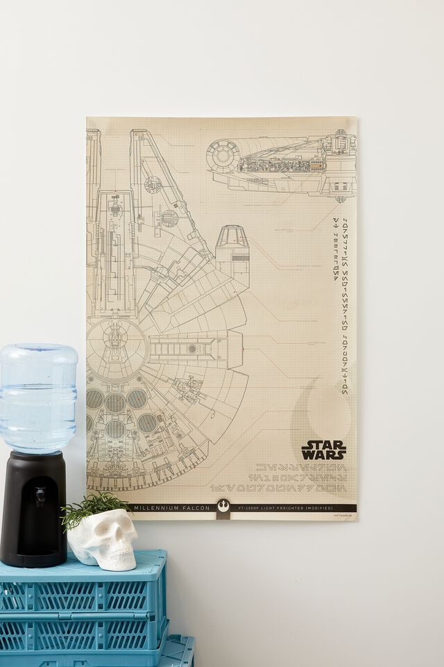Star Wars Hang Out Poster, LCN LUC MILLENIUM FALCON