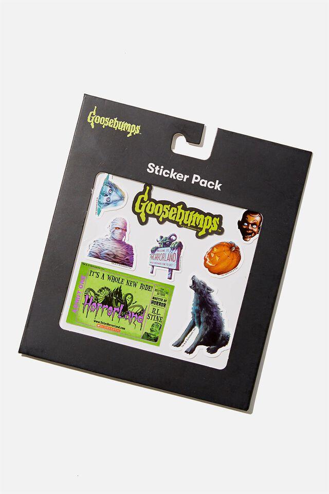 Licensed Sticker Pack, LCN SON GOOSEBUMPS