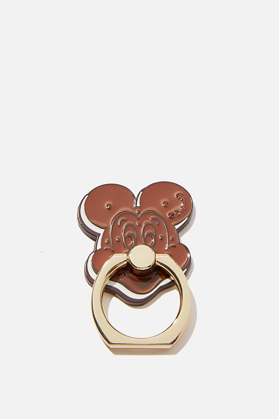 Licenced Metal Phone Ring, LCN DIS MICKEY SANDWHICH
