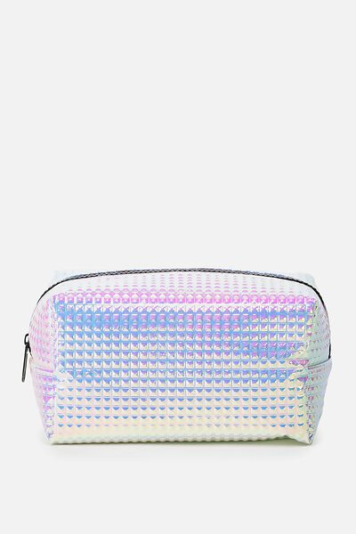 Made Up Cosmetic Bag, IRIDESCENT PRISM