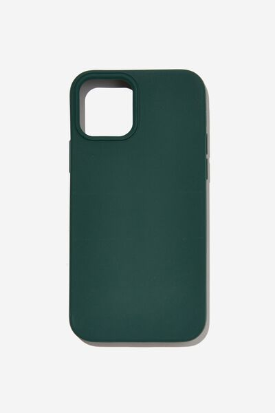 Recycled Phone Case Iphone 12, 12 Pro, DEEP GREEN