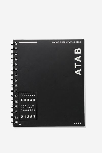 A5 Campus Notebook, ATAB