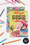 A5 Scented Notebook, LCN COCO POPS