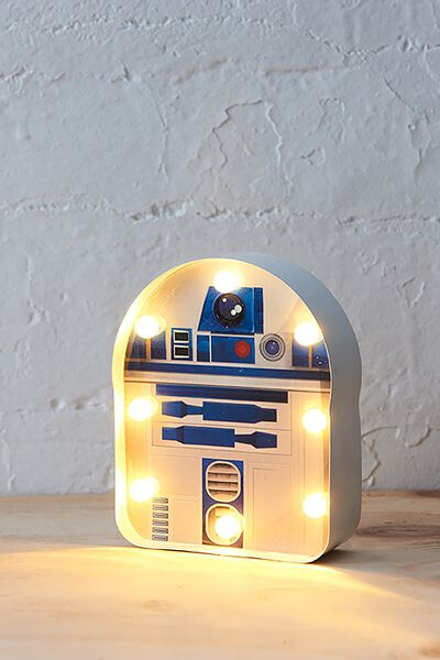Shaped Mini Marquee Light, LCN R2D2