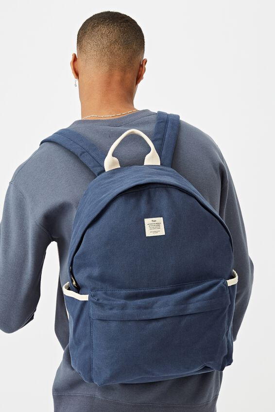 Fundamental Backpack, WASHED NAVY
