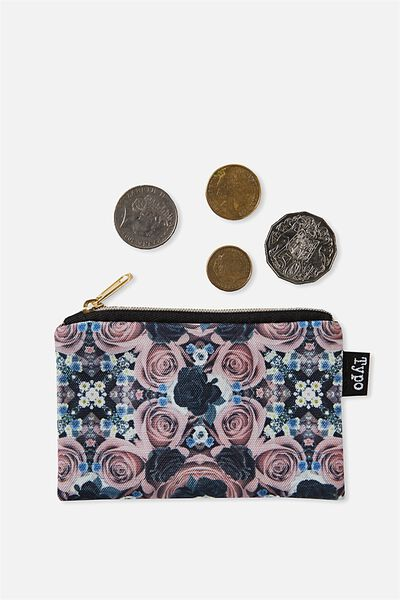 Campus Coin Purse, REFLECTIVE ROSE CRYSTAL