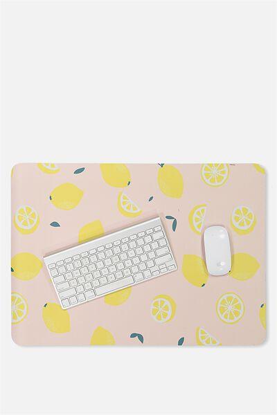 A2 Jumbo Mouse Pad, PINK LEMONS