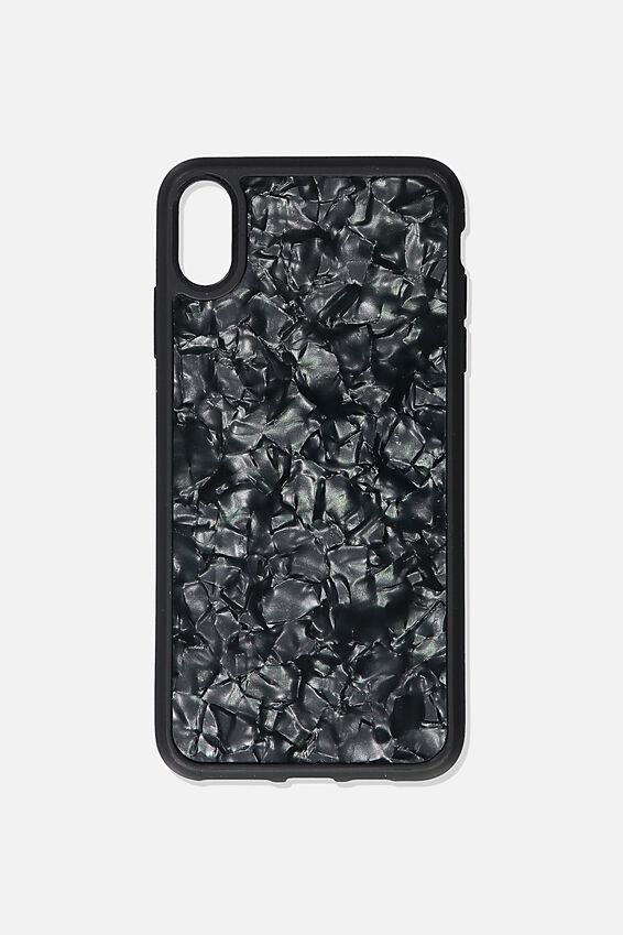 Protective Phone Case Xs Max, BLACK PEARL