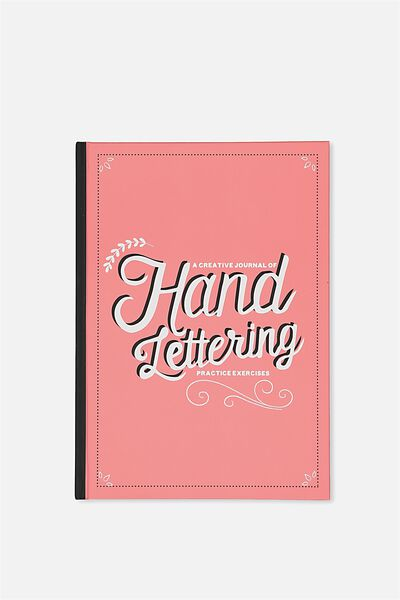 Activity Time Journal A5, HAND LETTERING
