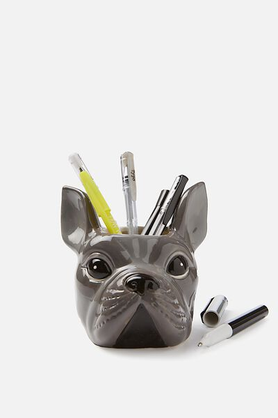 Pen Holder, FRENCH BULLDOG