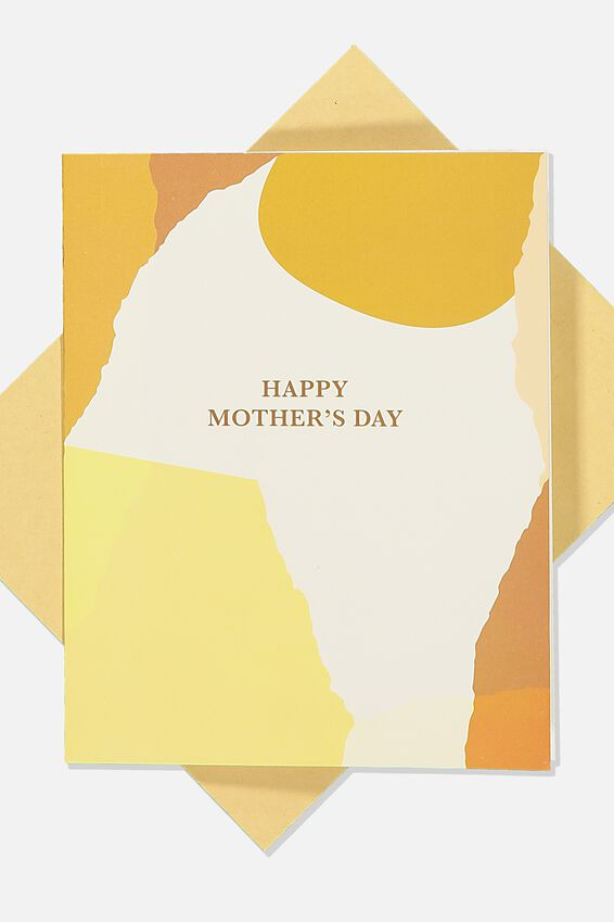 Mothers Day Card, RUST PATCHES MD