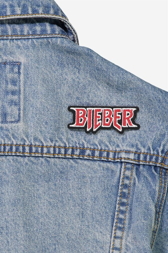 Iron On Patches, LCN BIEBER