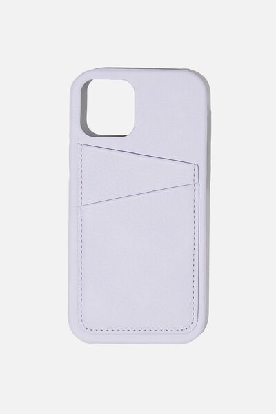 Cardholder Phone Cover 12/12 Pro, PALE LILAC