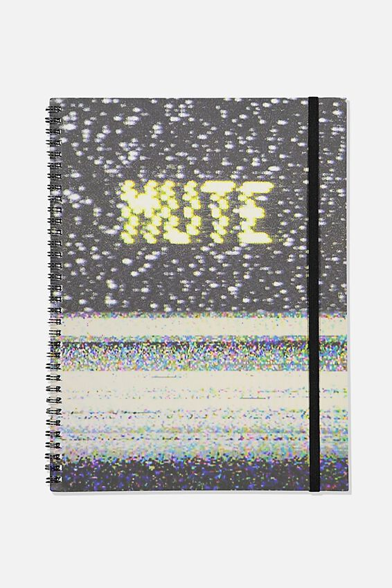 A4 Spinout Notebook Recycled, TBAR MUTE