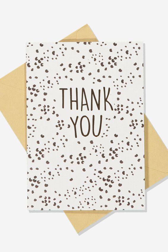 Thank You Card Pack 10, THANK YOU SPOT