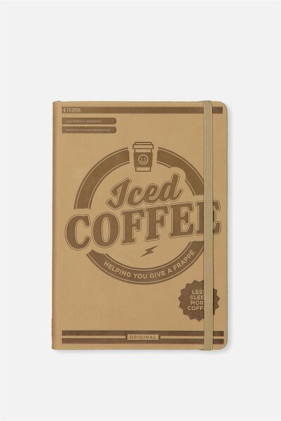 A5 Buffalo Journal, ICED COFFEE