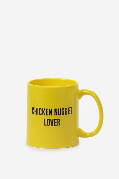 Anytime Mug, CHICKEN NUGGET LOVER
