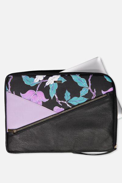 Premium Laptop Case 15 Inch, LUSH FLORAL