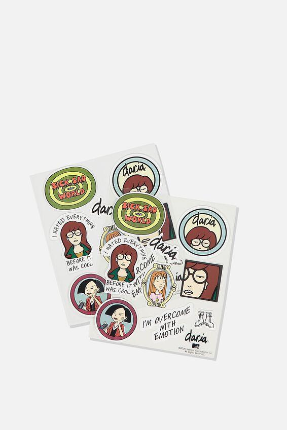 Daria Sticker Pack, LCN MTV DA DARIA