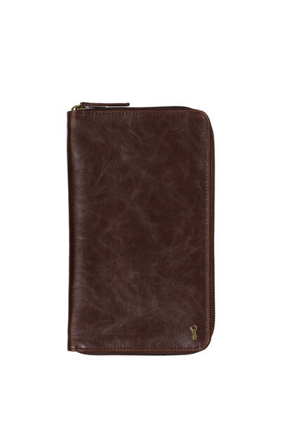 Buffalo Travel Wallet, VINTAGE TAN