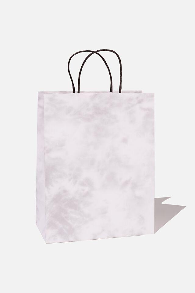 Get Stuffed Gift Bag - Medium, SPACE GREY TIE DYE