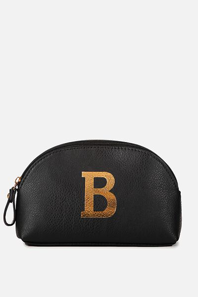 Alphabet Cosmetic Bag, B