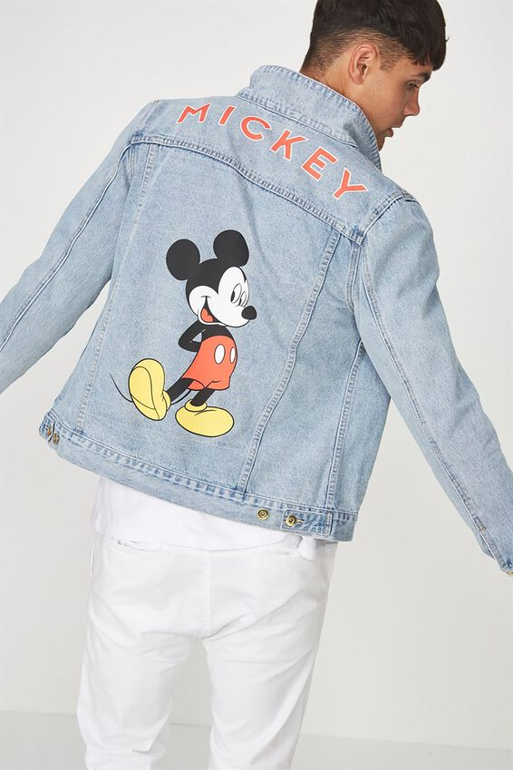Mickey Denim Jacket, LCN MICKEY MOUSE