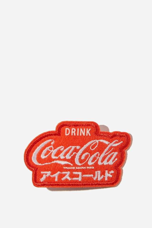 Coca Cola Fabric Badge, LCN COK COCA COLA